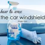 wax-windshield