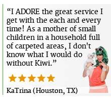 Kiwi Houston Carpet Cleaning Reveiws