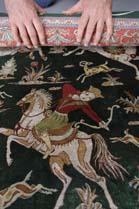 Waxahachie rug weaving teams