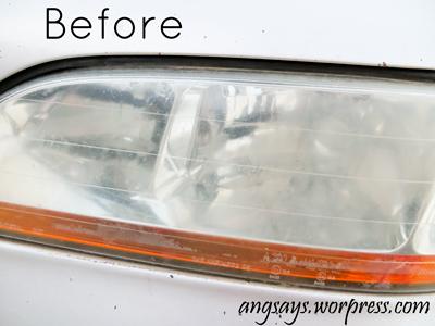 remove haze from headlights