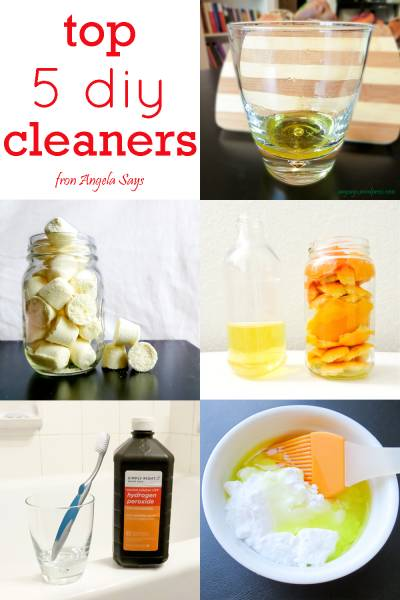 My Top 5 DIY Cleaners