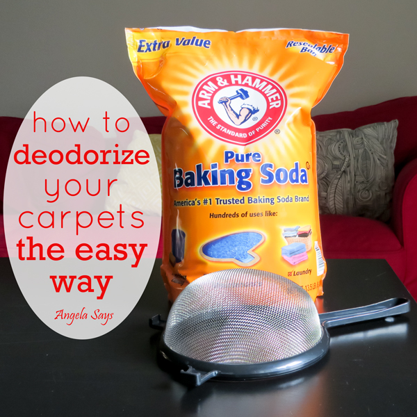 How to Deodorize Your Carpets the Easy Way