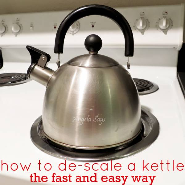 How to De-scale a Kettle Quickly