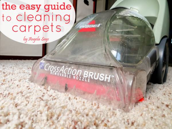 Cleaning Carpets the Easy Way