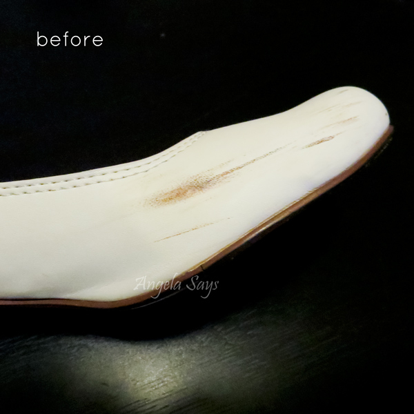 how to get white scuff marks off of patent leather