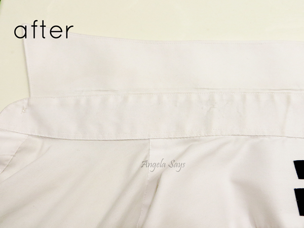 How to Clean a Shirt Collar