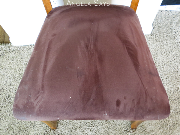 cleaning microfiber chairs