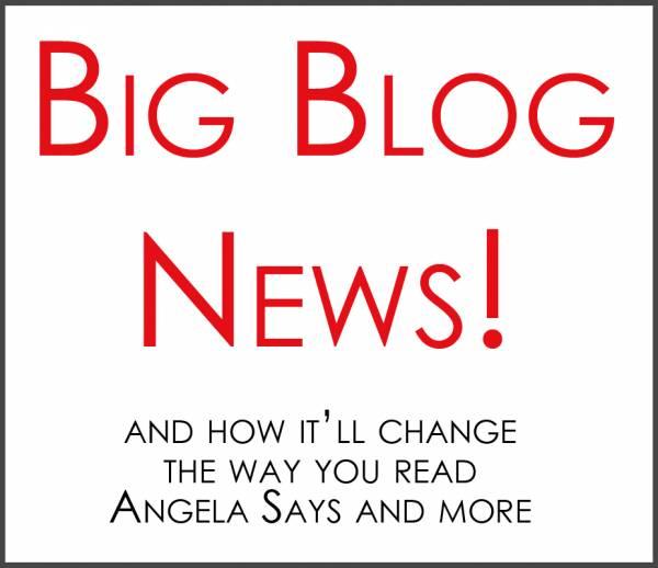 Big Blog Changing News!