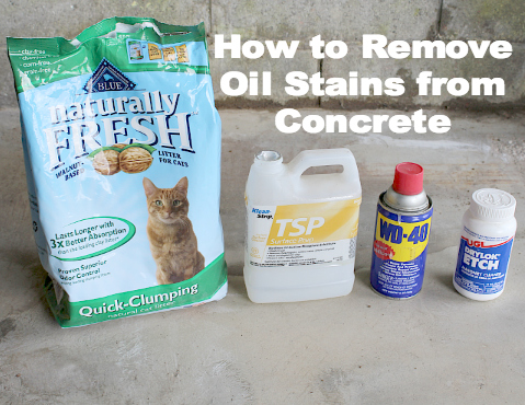 15 brilliant stain removal tips angela says for Natural concrete cleaner