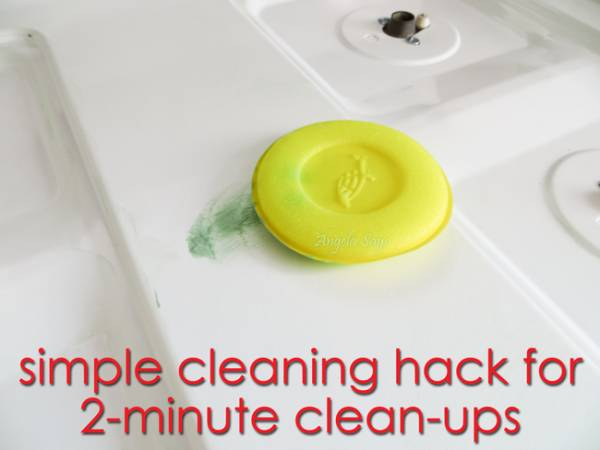 Simple Cleaning Hack for 2-Minute Clean-ups
