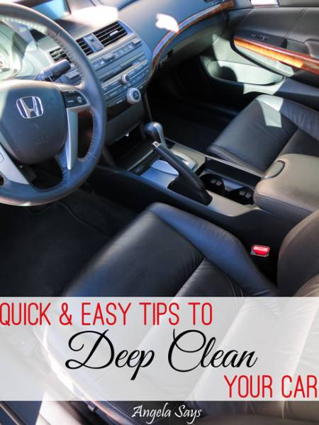 Quick and Easy Tips to Clean the Car