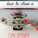 Clean a Can Opener