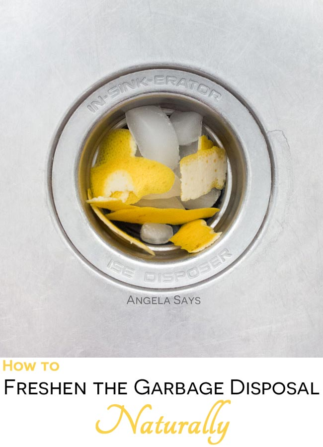 How to Freshen the Garbage Disposal Naturally