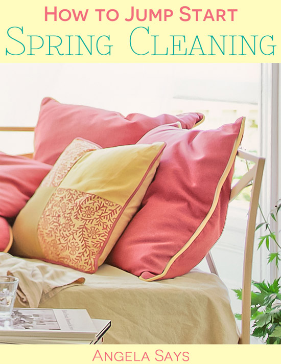How to Jump Start Spring Cleaning