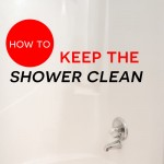 Keep the Shower Clean