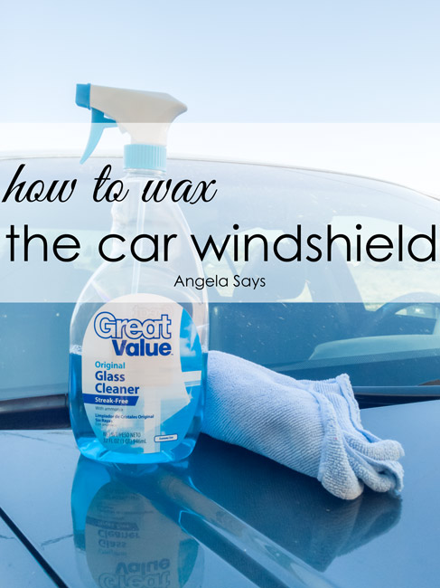 How to Wax a Car Windshield