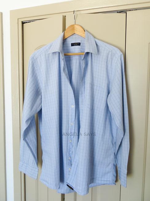 Ironing a Men's Shirt