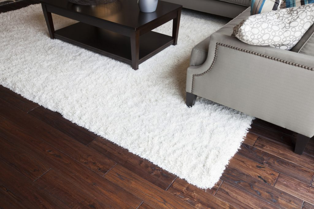 Clean An Area Rug On A Hardwood Floor