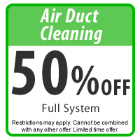 50% Off Air Duct Cleaning Coupon