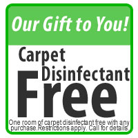 Free Carpet Disinfectant