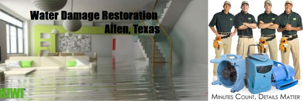 water damage restoration allen