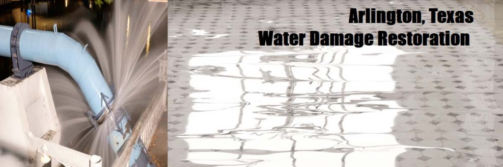 water damage restoration arlington