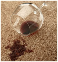 Cleaning Red Wine Spills From Carpets