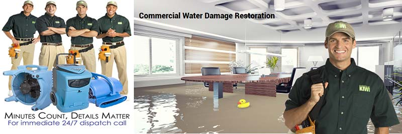 professional commercial water damage restoration atlanta