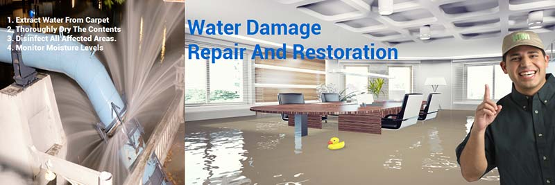 professional commercial water damage restoration dallas