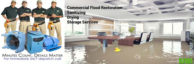 professional commercial water damage restoration fort worth