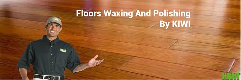 Professional wood floors wax and polish