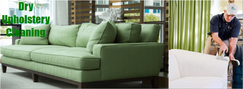 Dry Upholstery Cleaning