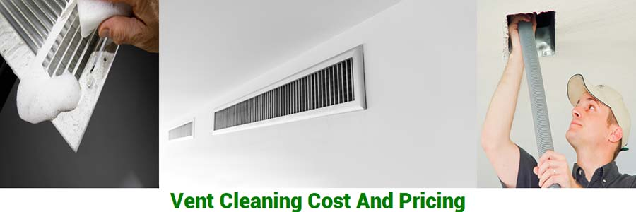 vent cleaning cost and pricing