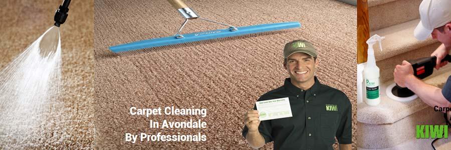 carpet cleaning by Kiwi technician in glendale