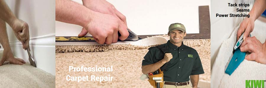 commercial carpet repairs performed by kiwi