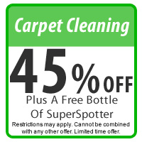 45% Off Carpet Cleaning Coupon