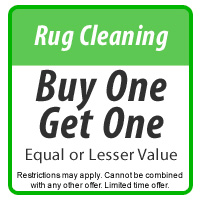 Rug Cleaning Buy One Get One