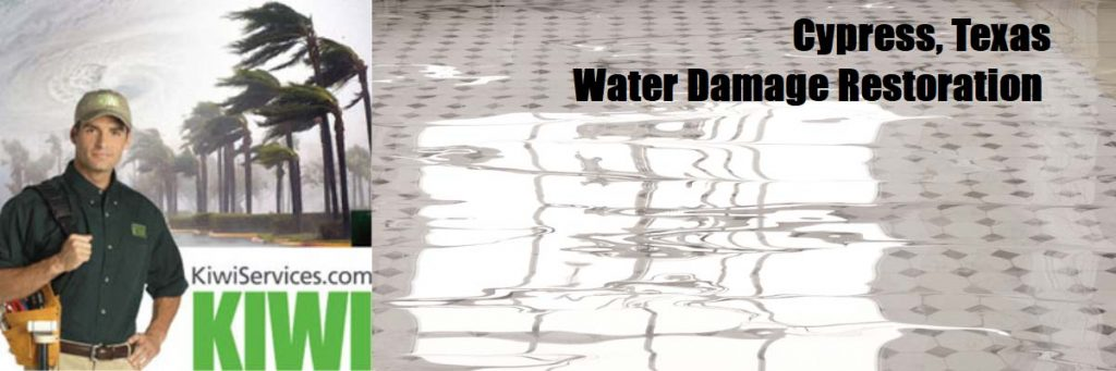 water damage restortation