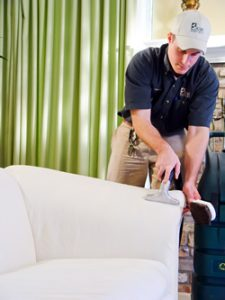 KIWI's professional commercial upholstery cleaning