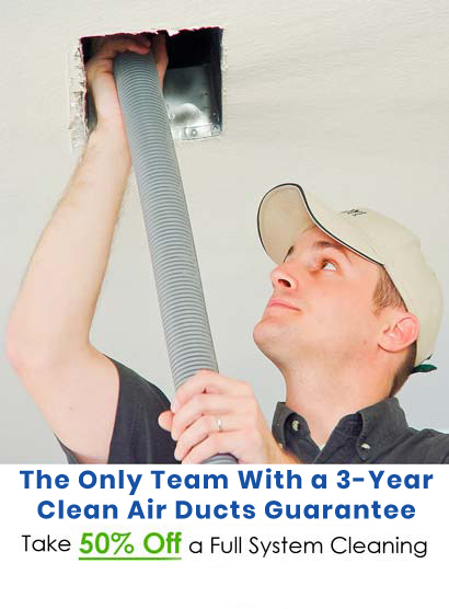 Plano Air Duct Cleaning With Two Year Guarantee Available