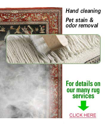 Spring Rug Cleaning, Repair Services