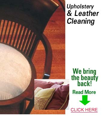 Spring Upholstery & Leather Cleaning Services