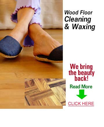 Wood Floor Cleaning and Waxing Services