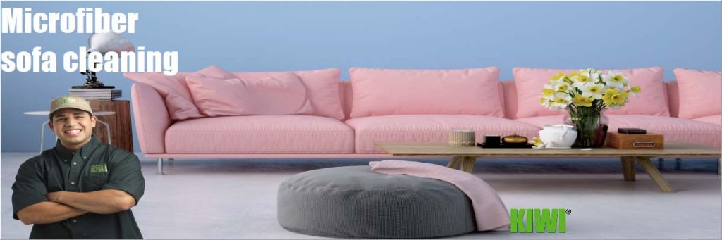 microfiber upholstery sofa cleaning