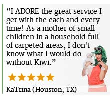 KIWI Houston Carpet Cleaning Reveiws