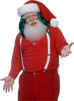 KIWI lover santa