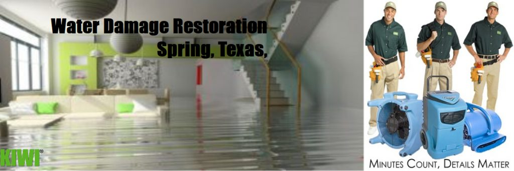 water damage restoration spring