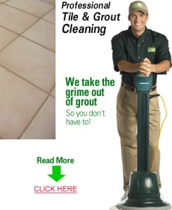 KIWI's commercial tile and grout cleaning