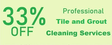 Tile and Grout Cleaning Services Special 33%