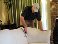 professional upholstery cleaning in Marietta